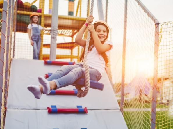 Abu Dhabi's new kids' adventure park opens