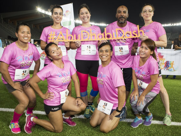 Get involved in the Abu Dhabi Dash