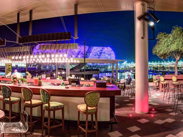 One of Abu Dhabi's coolest terraces reopens with new ladies' night