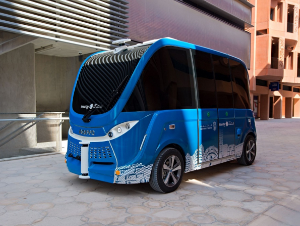 New driverless shuttle bus unveiled in Abu Dhabi