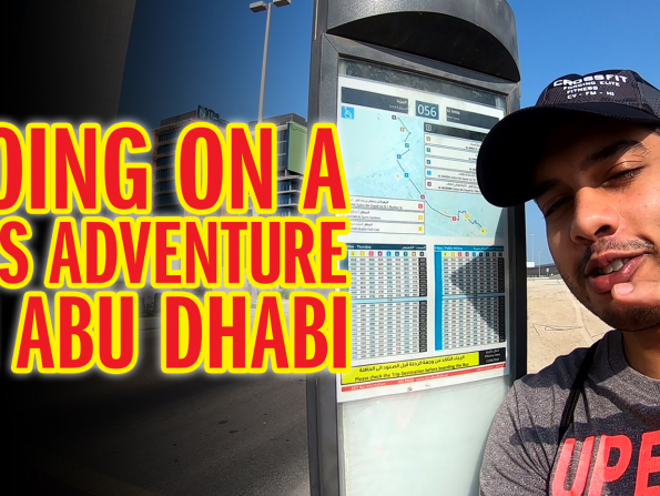 What it's like getting the bus in Abu Dhabi