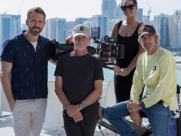 Ryan Reynolds is in Abu Dhabi shooting 6 Underground