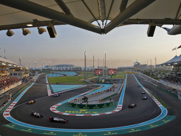 Your guide to Live Across The City celebrations for Abu Dhabi Grand Prix 2018