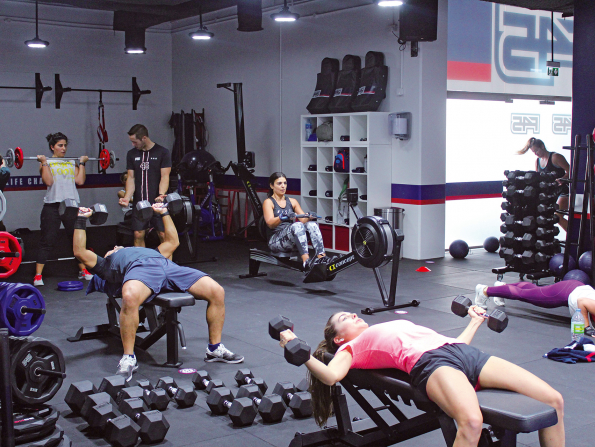Where to check out F45 Training in Abu Dhabi