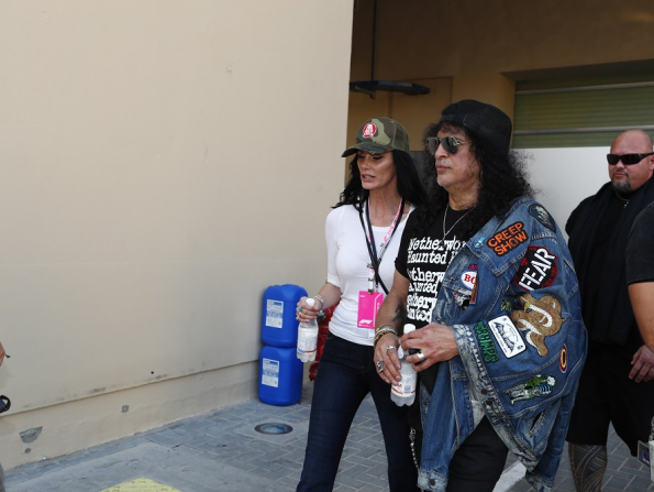 Guns N' Roses legend Slash meets fans in Abu Dhabi