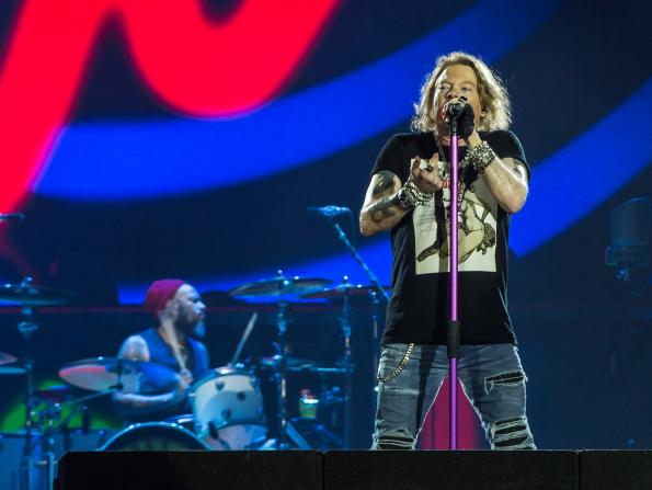 In pictures: Guns N' Roses at Abu Dhabi Grand Prix 2018