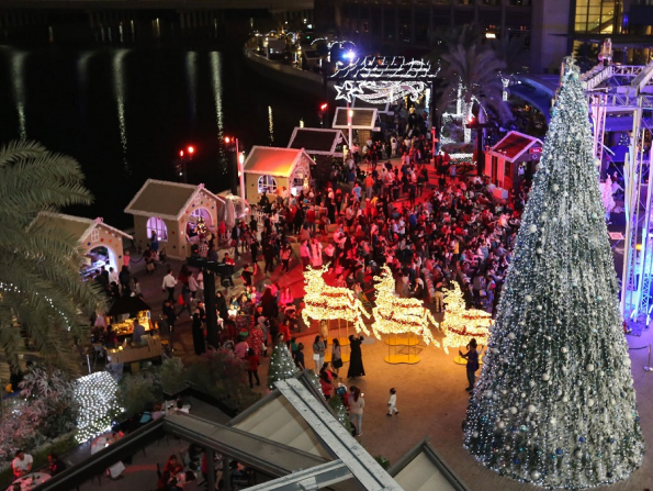 Abu Dhabi's awesome Winter Wonderland to finish up on December 26