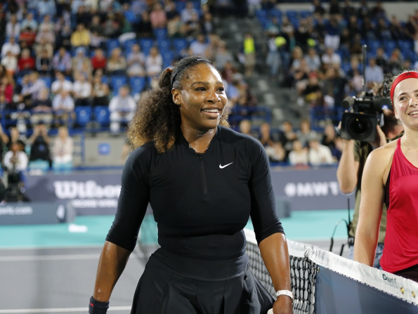 Serena Williams set to make Abu Dhabi return for Mubadala World Tennis Championship