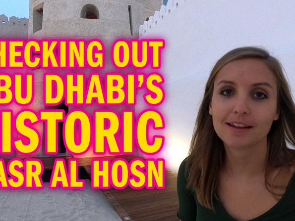 Exploring Abu Dhabi's history at Qasr Al Hosn