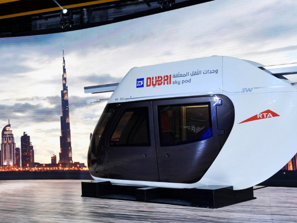 A new way to travel from Abu Dhabi to Dubai in 15 minutes