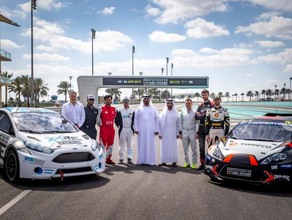Plans revealed for World Rallycross Abu Dhabi 2019