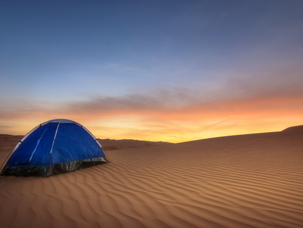 The ultimate guide to camping in the UAE
