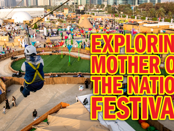 Exploring Abu Dhabi's Mother of the Nation festival 2019