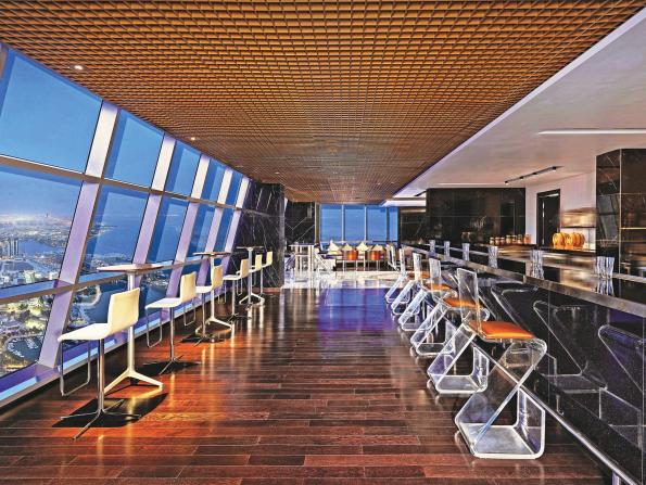 Abu Dhabi's fanciest bars and nightclubs