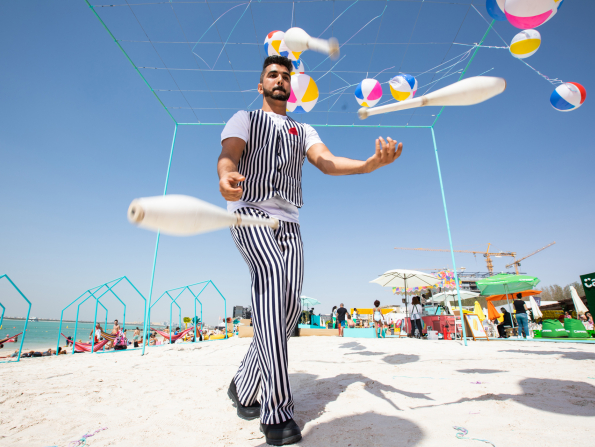 In pictures: Abu Dhabi's Club Social festival 2019