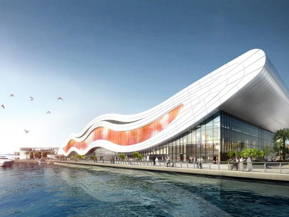 What's happening with Abu Dhabi's Al Qana development?