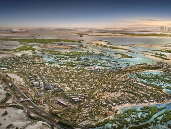 New Dhs5 billion project announced for Abu Dhabi island