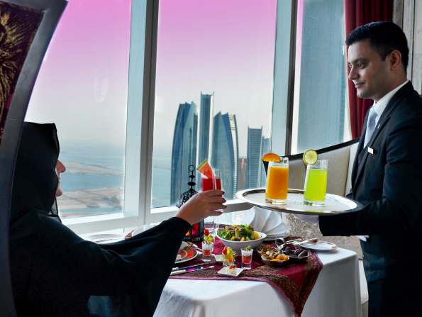 You can have iftar 220 metres in the sky in Abu Dhabi