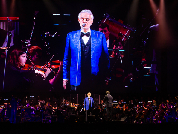 In pictures: Andrea Bocelli live in Abu Dhabi