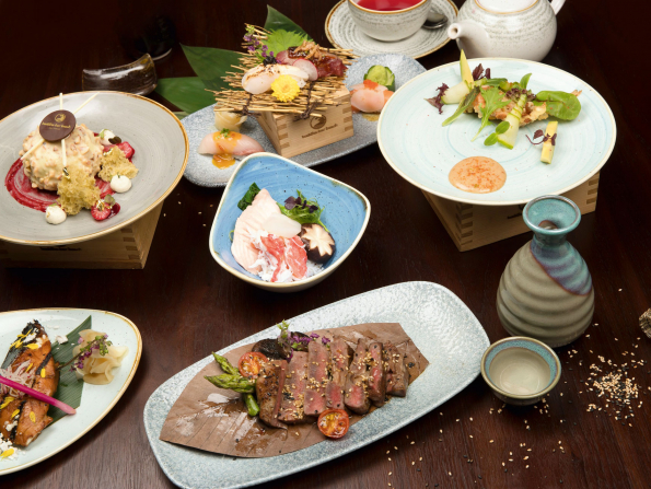 Try a Japanese dinner at Buddha-Bar Beach Abu Dhabi