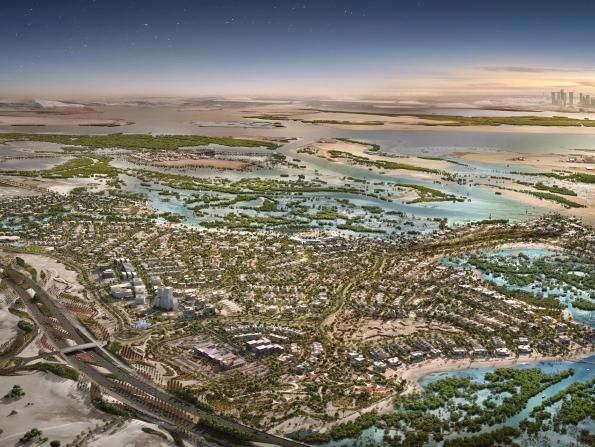 New Dhs5 billion eco-friendly development in Abu Dhabi takes a step forward