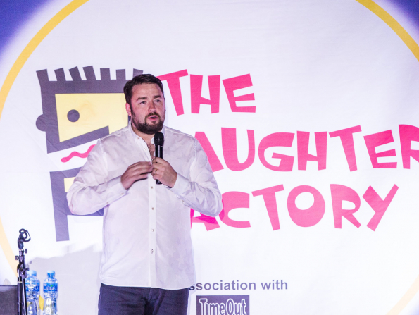 Comedian Jason Manford is coming back to Abu Dhabi