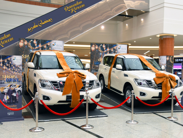 You can win a car just by shopping at this Abu Dhabi mall