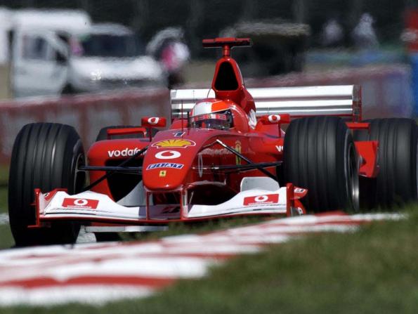 You can buy Michael Schumacher's F2002 Ferrari at this year's Abu Dhabi Grand Prix