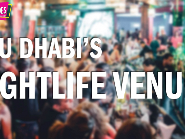 Time Out Quick Guides: The best Abu Dhabi nightlife venues in 2019