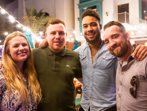 In pictures: PJ O'Reilly's celebrates being crowned Abu Dhabi's Pub of the Year