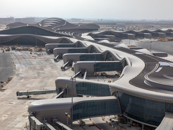 What's happening with Abu Dhabi Airport's Midfield Terminal?