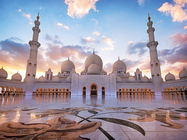 Abu Dhabi's Sheikh Zayed Grand Mosque named one of the best three landmarks in the world