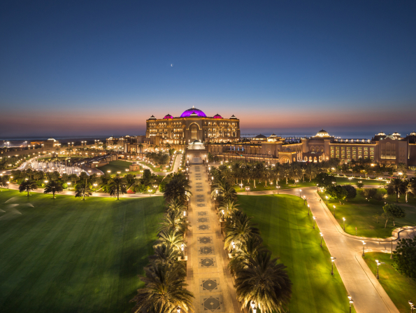 Get 25 percent off a stay at Abu Dhabi's Emirates Palace this summer