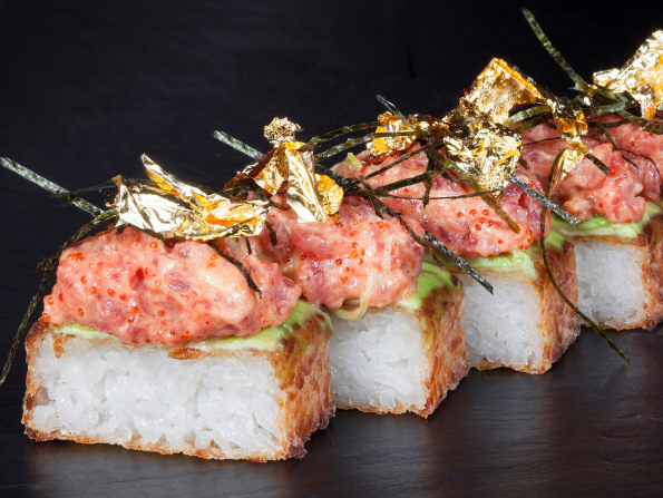 One of Abu Dhabi's best Japanese restaurants has a nine-course tasting menu