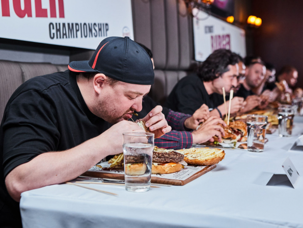 In pictures: Abu Dhabi's Ultimate Burger Challenge