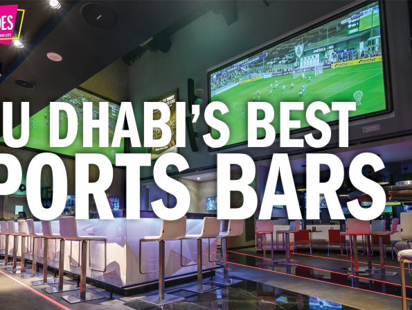 Time Out Quick Guides: The best sports bars in Abu Dhabi