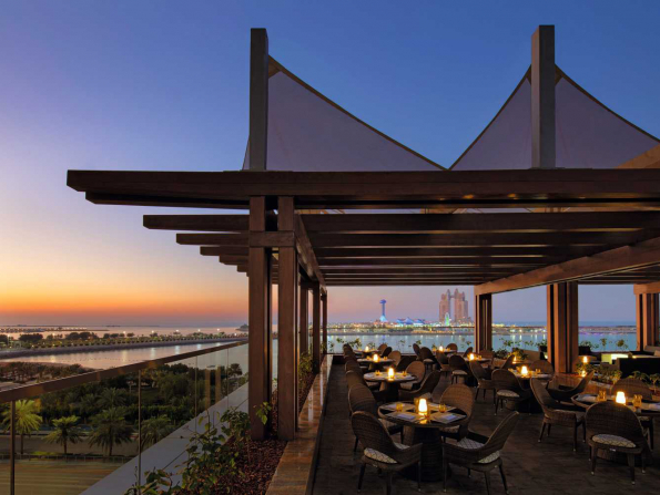 Bars with views of Abu Dhabi that are perfect to take visitors