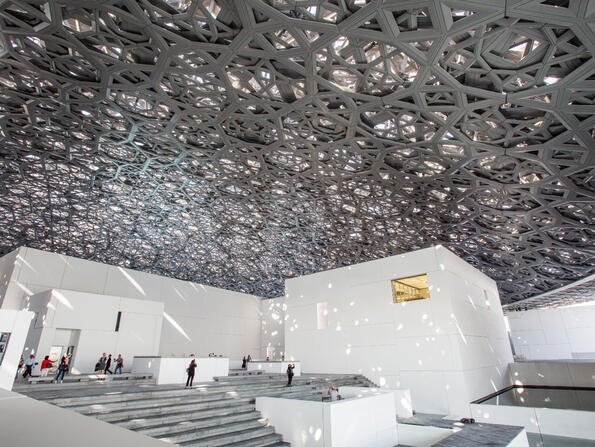 A high-end French restaurant has now opened at Louvre Abu Dhabi