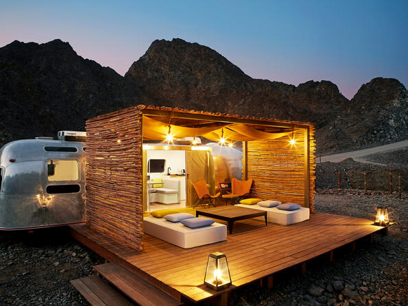 Five top places to go glamping in the UAE