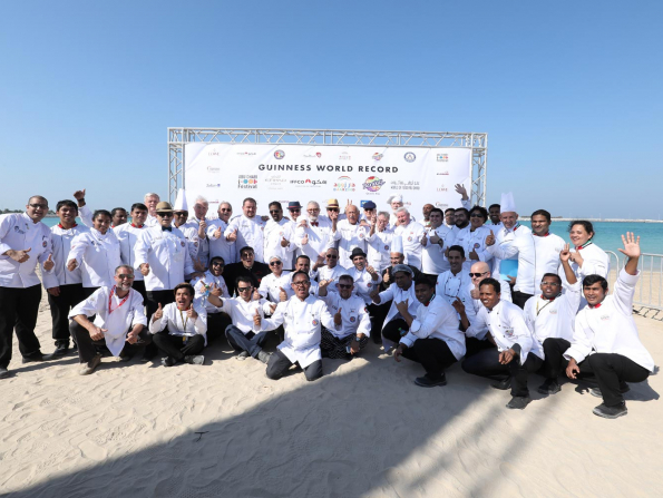 World record attempt taking place in Abu Dhabi