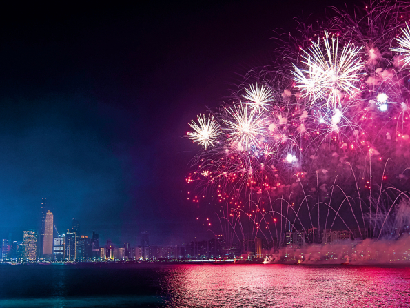 New Year's Eve in Abu Dhabi 2019: New Year's Day feasts
