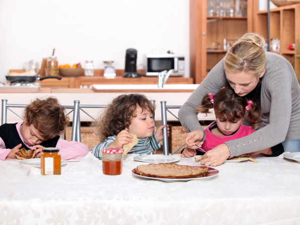 Three healthy pancake recipes to try with the kids