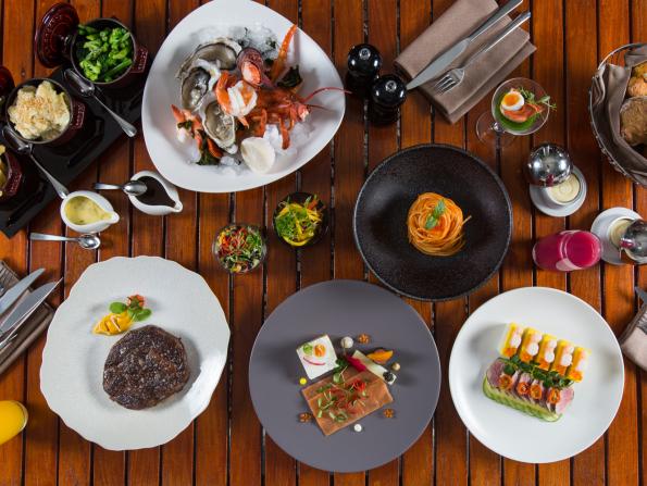 Brilliant brunches at Jumeirah at Saadiyat Island Resort & Jumeirah at Etihad Towers