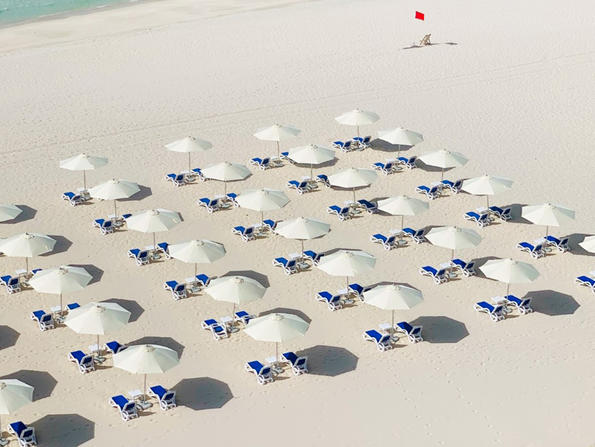 A new beach opens on Abu Dhabi's Saadiyat Island