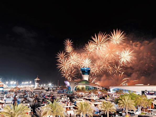 Where to see fireworks in Abu Dhabi for Eid al-Adha