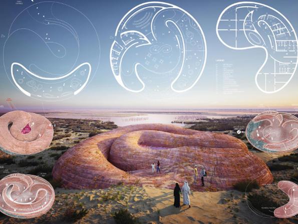Stunning visitors' centre to be built at Abu Dhabi's Al Watba Wetland Reserve