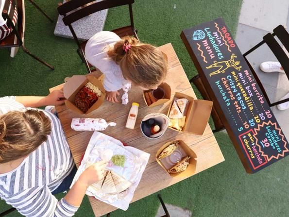 Two places where kids eat free at The Galleria Al Maryah Island Abu Dhabi