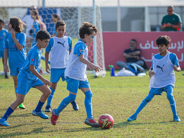 Manchester City Football Schools now running in seven venues across the UAE