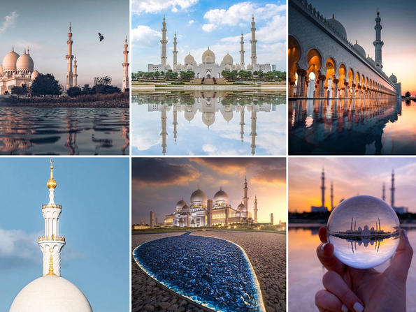 Stunning images of Abu Dhabi's Sheikh Zayed Grand Mosque