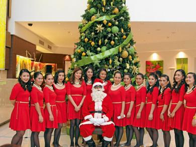 Christmas carols in Abu Dhabi 2013